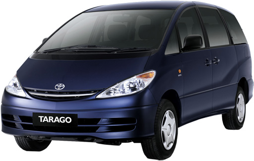 Toyota Tarago 8 Seater Van Or Similar