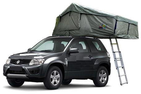 4wd Camper With Rooftop Tent For 2 3 People